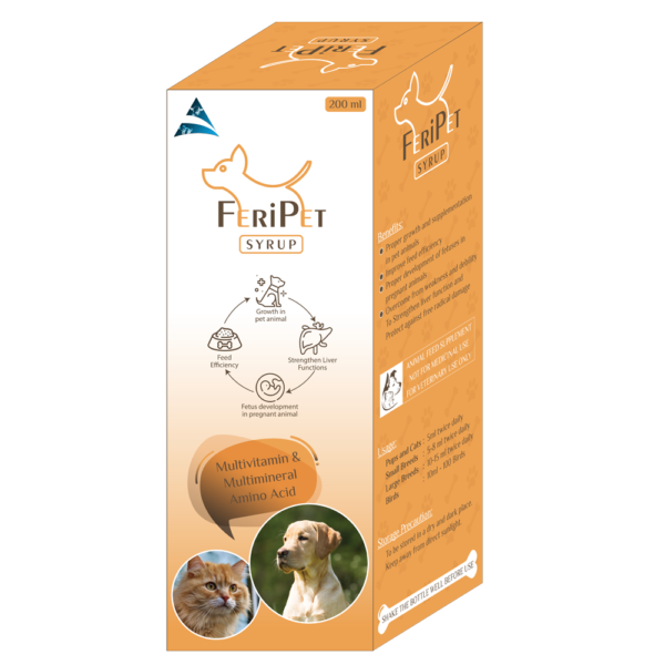 Multivitamins Syrup for Pet Animals