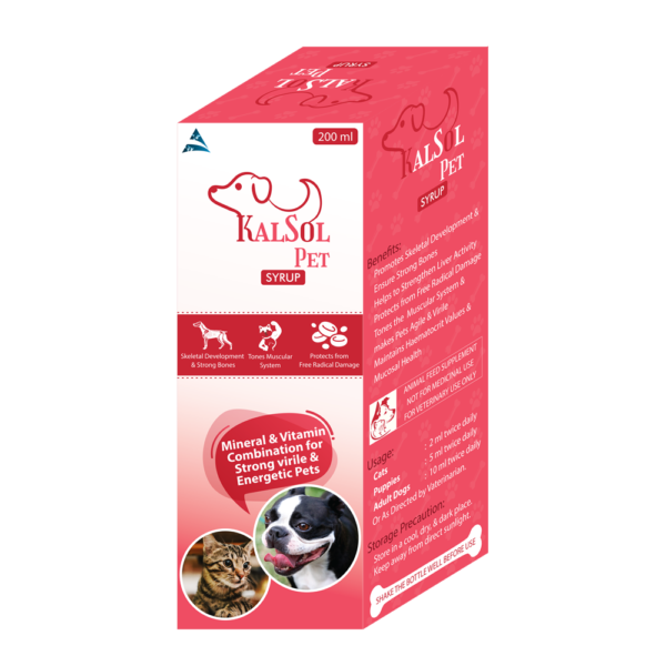 Calcium Syrup for Pet Animals